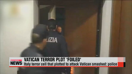 Italy terror cell that plotted to attack Vatican smashed: police