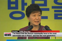 President Park wraps up four-nation trip to South America