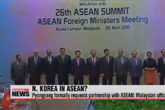 North Korea requests partnership with ASEAN