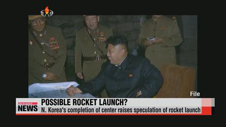 N. Korea's completion of satellite control center raises speculation of rocket launch