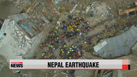 Three pulled from rubble alive eight days after Nepal quake