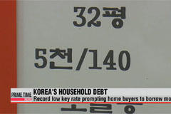 Koreans borrowing more, with most loans for housing purchases