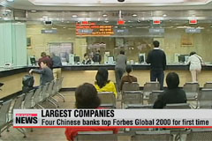 Four Chinese banks top Forbes Global 2000, Samsung ranks 18th