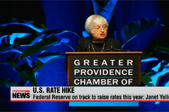 Federal Reserve on track to raise rates this year: Janet Yellen