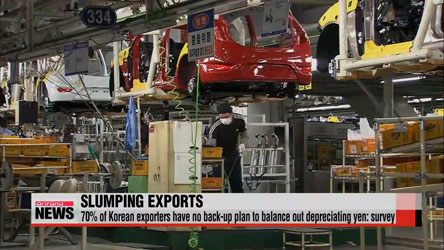 Korean won losing competitiveness in global export market
