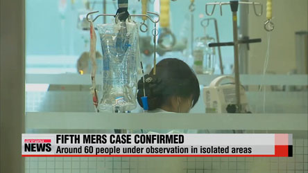 Korea confirms fifth case of MERS in space of week
