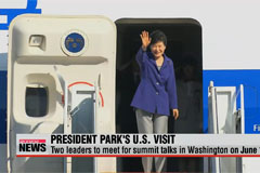 President Park to make official U.S. visit June 14-18