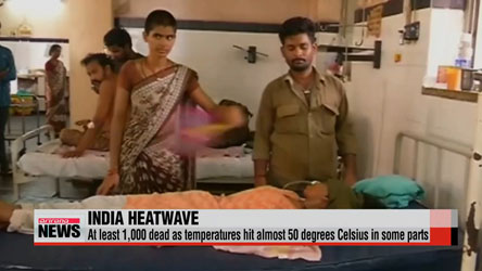 India heatwave: at least 1,000 dead as temperatures soar