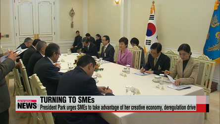 President Park urges SMEs to create more high-quality jobs