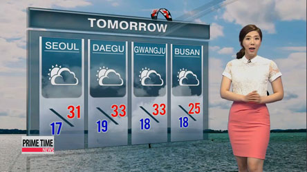 Sizzling hot weather to continue this week, rain on Saturday