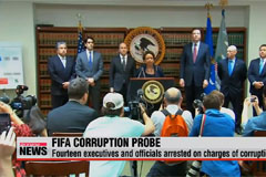 14 Fifa executives and officials arrested on charges of corruption