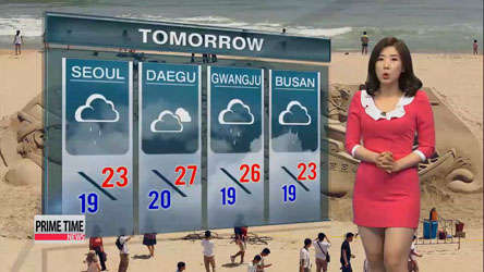 Rainy, cloudy and cool on Saturday; sweltering heat on Sunday