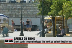 Greek banks to remain closed this week as bailout deadline nears