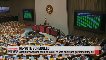 Assembly Speaker calls for re-vote on controversial parliamentary law