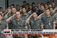 S. Korea assesses military strategy in first half of 2015