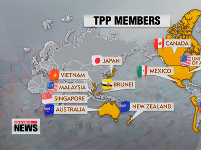 Interest in Korea's participation in TPP grows as U.S. grants 'fast-track' authority