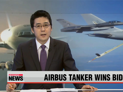 Airbus tanker selected to fuel Korea's fighter jets in mid-air