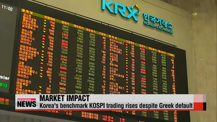 Greek default having limited impact on Korean economy
