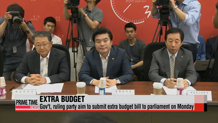 Gov't, ruling party to submit supplementary budget bill next Monday