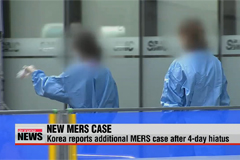 New MERS case reported in Korea after 4-days of hiatus