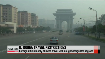 Pyongyang limits travel for foreign officials to eight regions