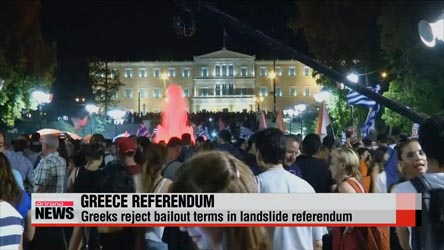 Greek voters reject bailout offer