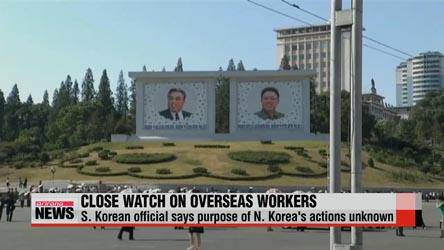 N. Korea still monitoring its workers overseas: source