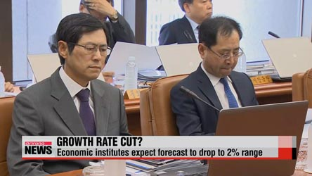 Bank of Korea expected to cut Korea's 2015 growth forecast