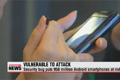 Security bug puts 950 million Android smartphones at risk