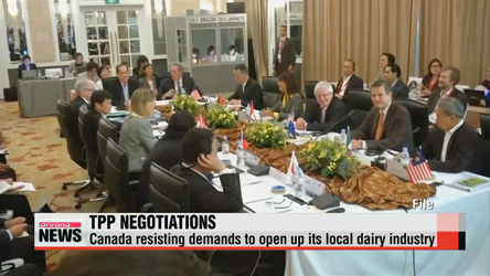 Dairy trade impasse holding up TPP deal