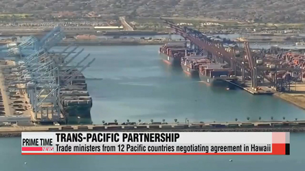 Trade ministers from 12 Pacific countries negotiating agreement in Hawaii