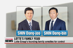 Lotte Group's founding family wrestles for control