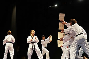 Taekwondo performance in Montevideo