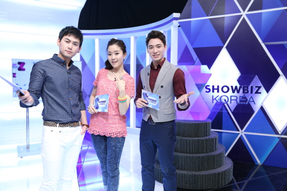 New MC & reporters, the revented edtion of Showbiz Korea