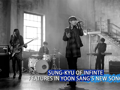 Showbiz Korea Ep986C1 SUNG-GYU OF INFINTE FEATURES IN YOON SANG'S NEW SONG
