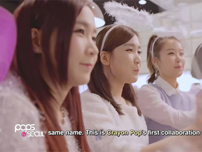 Pops in Seoul Ep2823C1 Crayon Pop - So-yul (Y-Shirt (feat. Yang Jeong-mo))