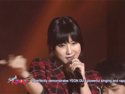 Simply K-Pop Ep152C04 YEON DU - Be Your Girl