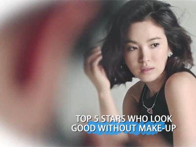 Showbiz Korea Ep1058C3 TOP 5 STARS WHO LOOK GOOD WITHOUT MAKE-UP