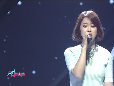 Simply K-Pop Ep156C13 Baek Z Young with Song Yu Vin - Garosugil at dawn