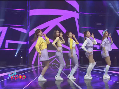 Simply K-Pop Ep159C05 CLC - PEPE