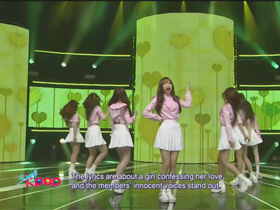 Simply K-Pop Ep159C06 Lovelyz - Hi~