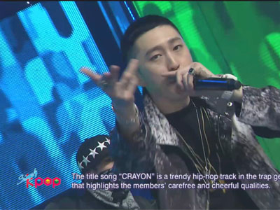 Simply K-Pop Ep159C12 Untouchable - CRAYON