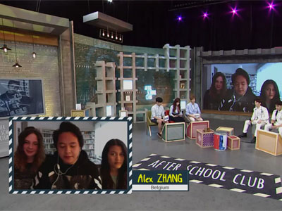 After School Club Ep161C3 Hang out with Alex ZHANG,Celina MAHABIR