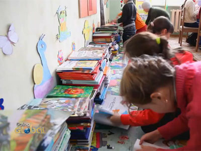 Going Global Ep5C2 Moldova now has a small library for children