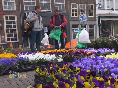 Going Global Ep5C4 Netherlands, a regular marketplace opens every week