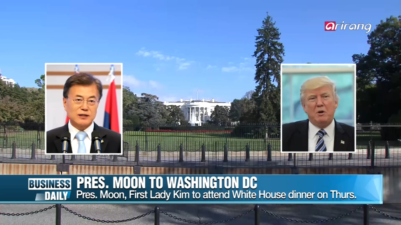 [Business Daily] Pres. Moon to Washington DC