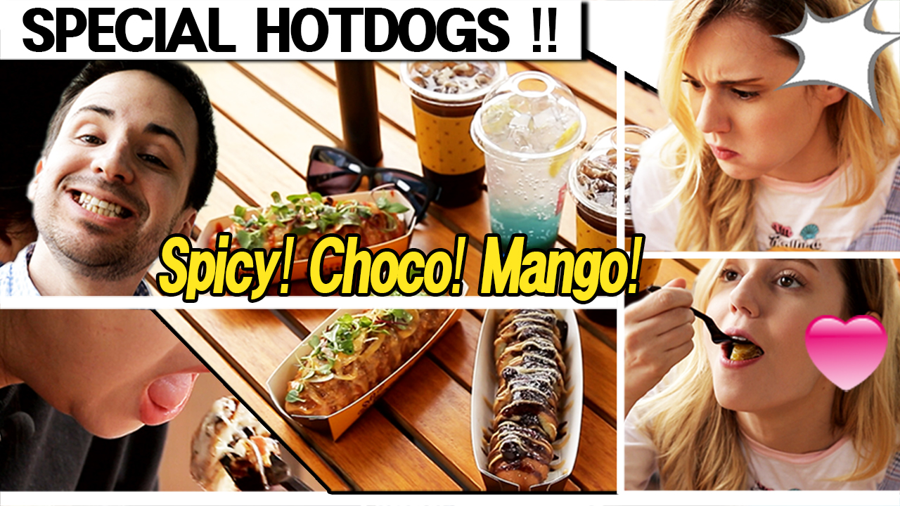 [MYSTERY TARVELERS] The UNIQUE HOT DOGS!! You can have a good time with them [Geojedo]