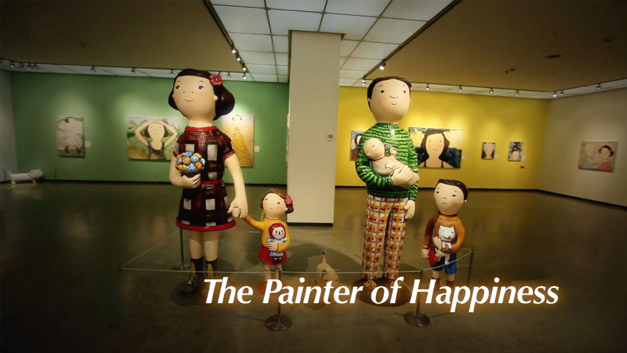 [The INNERview] The Painter of Happiness [Spanish painter, Eva Armisen]