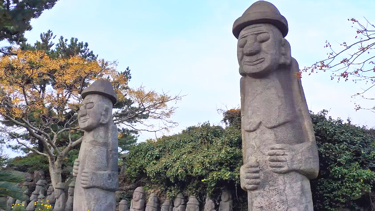 [ArTravel 2] Geumneung Stone Park, meets a sculptor who creates art using Jeju's volcanic rocks