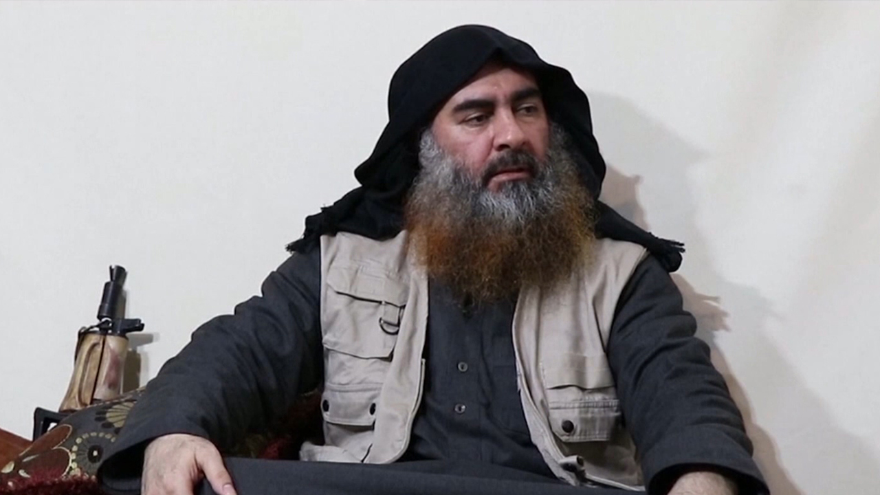 48-3 IS Leader Baghdadi Appears for First Time in 5 Years